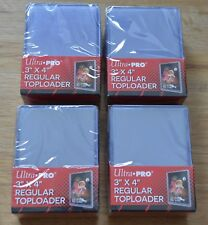 "Ultra Pro 100 Regular Toploader 3"" x 4"" Ultra Clear für Yu-Gi-Oh!, Magic usw."