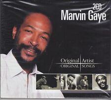 2 Cd Audio Box Set MARVIN GAYE - ORIGINAL ARTIST ORIGINAL SONGS nuovo sigillato