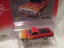 65 ELCAMINO RED W/FLAMES 1965 CLASSIC GOLD JOHNNY LIGHTNING 1/64 ltd ed 2004