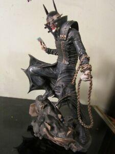 DC Gallery ~ BATMAN WHO LAUGHS STATUE ~ DST Diamond DC Comics Dark Knight Joker~