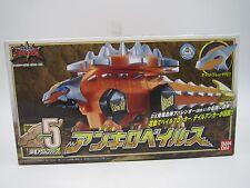Power Ranger DINO Thunder Abaranger Ankyloveilus Ankylozord Zord Megazord Japan