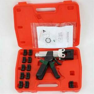 HT-150 Mini Hydraulic Crimping Tool Safety System Inside for press 4-150mm² lugs