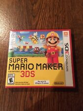 Super Mario Maker (Nintendo 3DS, 2016) NEW SEALED FAST SHIPPING 3DS 2DS