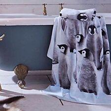 Hand Animal Print Bath Towels