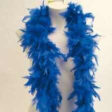 Feather Boa 1.8m Good Quality Feathers Blue