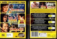 MATILDA + HOOK + JUMANJI * 3-DVD SET NEW * Robin Williams (Region 4 Australia)