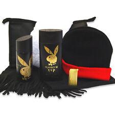 Männer Geschenk-Set Dress Man mit Playboy Duschgel und Deospray plus Feuerzeug