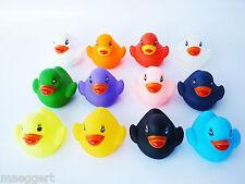 Badeente Badespielzeug Badespass Duck Baby Entchen Quitscheente Ente 5 Stk. NEU