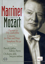 MARRINER CONDUCTS MOZART  DVD NEW