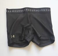 Under Armour Women's Heat Gear Shorty XS S M L XL    Black 1309618  Shorts