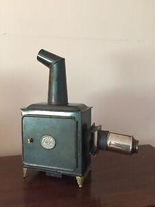Antique Magic Lantern Ernst Plank Glass Slide Projector