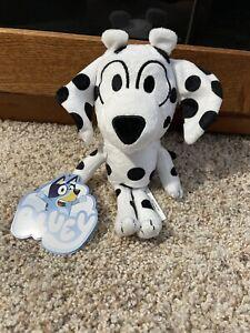 """Bluey Friend Chloe Plush Dalmation Toy 7"""" NEW"""
