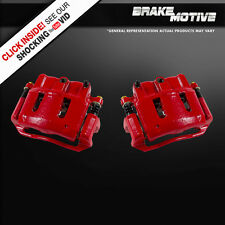 Front Red Brake Calipers Pair FORD EXPLORER RANGER B2300 B3000 B4000 MOUNTAINEER