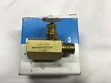 New listing Deltrol 10002-02 Gv - Nmf20Bk - Brass Flow Control Valve - Nos
