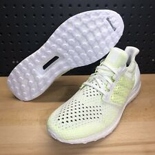 fbde3bce7 Adidas UltraBOOST Clima Running Shoes White Solor Yellow AQ0481 Men s 12