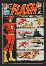 THE FLASH #205, 1971, DC Comics, FN+ CONDITION, REVERSE FLASH, GOLDEN AGE FLASH