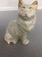 Vintage Royal Doulton Persian Kitten White, 4 inches