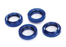 Traxxs X-Maxx Spring Retainer (adjuster), Blue-Anodized Aluminum (4) - TRA7767