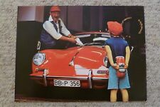 Porsche 356 Cabriolet / Roadster Showroom Advertising Poster RARE!! L@@K (1978)