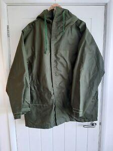 Genuine RAF Issue FOUL WEATHER JACKET Size Large Olive Green Weatherproof Coat