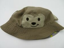 Jumping Bean Teddy Bear Bucket Baby 0-6 Months Cap Hat