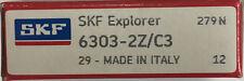6303-2Z/C3 SKF Ball Bearing 17x47x14 (mm)