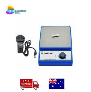 INTLLAB Magnetic Stirrer MS-500 Lab 3000rpm Homebrew Liquid Machine with Au Plug