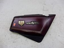 1986 Honda GL1200 Goldwing 1200 H1352. right side cover with emblems
