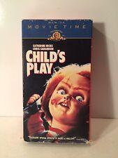 Child's Play (VHS, 1997) MGM/UA Movie Time Ed. Chris Sarandon Chucky Horror