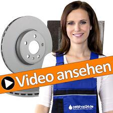 Zimmermann Dischi Freno ø257mm+ 4 Pastiglie + accessorie. ANTERIORE OPEL CORSA D CORSA E