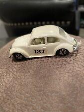 Vintage Lesney Matchbox No 15 Volkswagen 1500 Saloon White England Superfast Vw