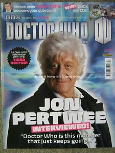 Dr Doctor Who magazine issue 457 March 2013 Jon Pertwee Planet of the Spiders