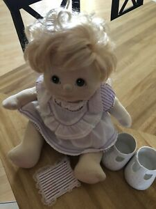 my child doll mattel doll with clothes, shoes, book