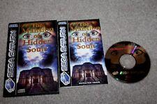 Sega Saturn-la mansión de almas ocultas-Completo En Caja + Instrucciones-en muy buena condición