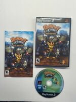 PlayStation 2 Ratchet and Clank Size Matters Complete Black Label PS2
