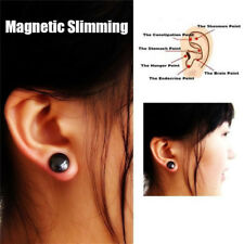 1Pair Healthy Stimulating Acupoints Stud Earring Magnetic Therapy Earrings