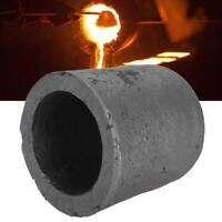 Graphite Crucible Cup Propane Torch Melting Gold Silver Copper Metal HGUK