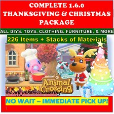 Thanksgiving Christmas Winter Update ALL New Items &DIYS +EXTRA Animal;Crossing