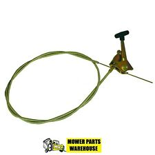 NEW UNIVERSAL MOWER THROTTLE CABLE ASSEMBLY 47.5