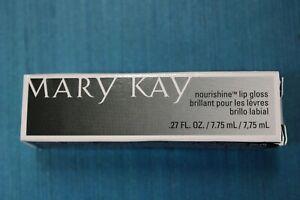 Mary Kay Nourishine Lip Gloss .27 Oz/7.75 ML New In Box-You Choose The Variety