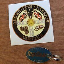 ALL BRITISH CLASSICS Retro Car Sticker Decal 80mm 1 off