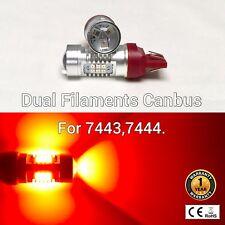 T20 7443 7444 12V 21 SMD Red LED Light Front Signal M1 MAR