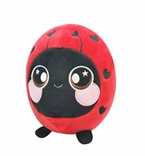Squishamals Lainey the Ladybug Jumbo 8-Inch Scented Plush Figure