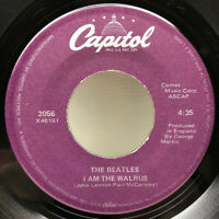 The Beatles 45 Rpm Record 2056 X46160 I Am The Walrus & Hello Goodbye