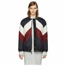 50% OFF | ISABEL MARANT ETOILE CELIA REVERSIBLE PUFFER JACKET COAT CHEVRON RARE