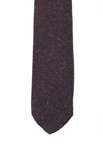 New Gucci Aubergine Solid Tie