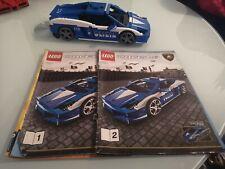 Lego  Racers 8214 Lamborghini Gallardo LP 560 Polizia. No box Read description