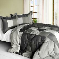 [Hear the Wind Sing] Quilted Patchwork Down Alternative Comforter Set (Twin S.