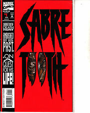 Sabre Tooth-1993-Issue 1-Marvel -Comic