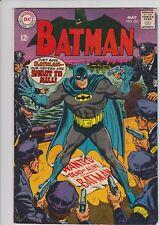 BATMAN # 201  FN  JOKER, PENGUIN, CATWOMAN  MAY 1968